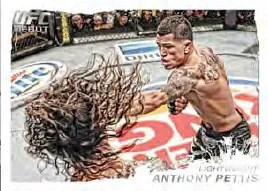 2011 Topps UFC Moment of Truth Anthony Pettis Base Card