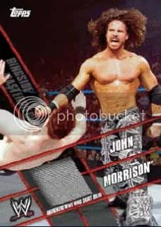 2011 Topps WWE Ringside Masterpiece John Morrison Relic Card