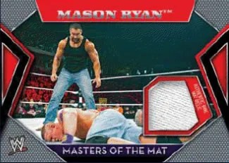 2011 Topps Masters Of The Mat Mason Ryan Relic Card