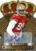 2011 Panini Crown Royale Aldon Smith Autograph Card