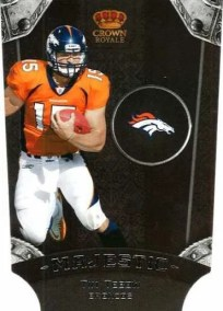 2011 Panini Crown Royale Majestic Tim Tebow Insert #5