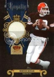 2011 Panini Crown Royale Bernie Kosar Jersey Card #20