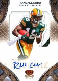 2011 Panini Crown Royale Randall Cobb RPS Autograph Rookie