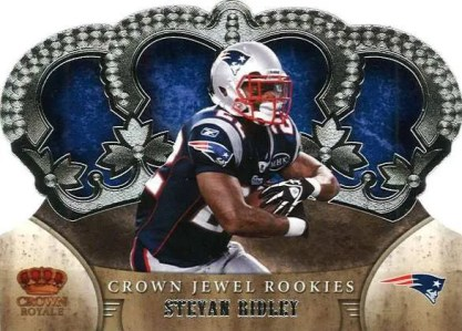 2011 Panini Crown Royale Jewel Stevan Ridley Rookie Card