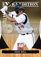 2011 Donruss EEE Josh Bell Baseball Card