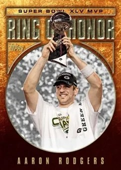 2011 Topps Ring of Honor Aaron Rodgers Insert Card