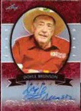 2012 Leaf Metal Poker Doyle Brunson Autograph Card
