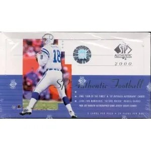 2000 Upper Deck SP Authentic Football Hobby Box