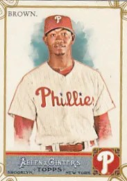 2011 Topps Allen & Ginter Domonic Brown Code