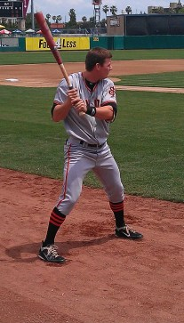 Gary Brown San Francisco Giants Top Prospect SJ Giants