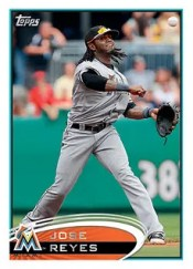 2012 Topps Jose Reyes Sp Series One 1 Card