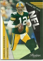 2011 Panini Prestige Aaron Rodgers Stars of the NFL