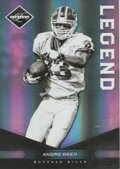 2011 Panini Limited Andre Reed Legend