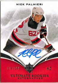 2010-11 Ultimate Nick Palieri Autograph RC /299