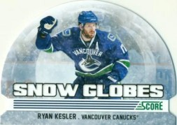 2011-12 Panini Score Snow Globes Ryan Kesler