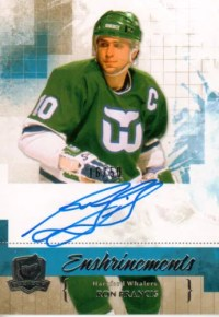 10-11 The Cup Enshrinements Ron Francis Auto