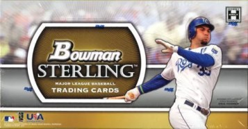 2011 Bowman Sterling Baseball Hobby Box