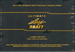 2011 LEaf Ultimate Draft Football Box