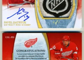 2010-11 Ultimate Collection Pavel Datsyuk NHL Patch Auto 1/1