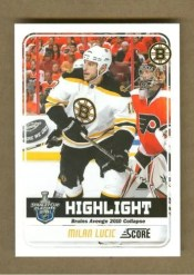 2011-12 Score Milan Lucic Stanley Cup Highlights
