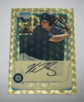 2011 Bowman Chrome Kevin Rivers Superfractor 1/1