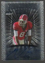 2011 Leaf Metal Draft AJ Green Touchdown Kings Auto