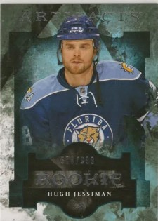 2011-12 Upper Deck Artifacts Hugh Jessiman Rookie /999