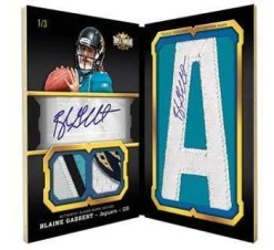 2011 Topps Triple Threads Book Blaine Gabbert Rookie