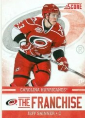 2011-12 Panini Score Jeff Skinner The Franchise