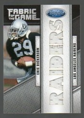 2011 Panini Certified Eric Dickerson Fabric of the Game