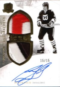 2010-11 The Cup Ron Francis Emblems of Endorsement