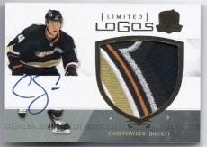 2010-11 UD The Cup Limited Logos Cam Fowler