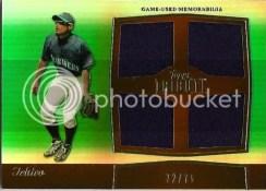 2011 Topps Tribute Ichiro Quad Jersey Card