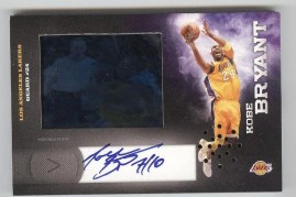 2010-11 Panini Certified HRX Kobe Bryant Autograph Video Card