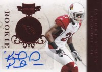 2011 Panini Plates & Patches Patrick Peterson Autograph Rookie RC