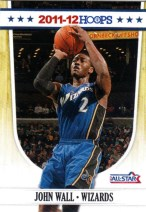 2011-12 John Wall Panini Hoops All-Star Promo Card