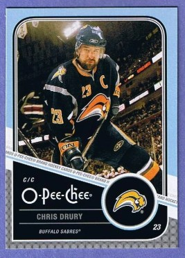 2011-12 Upper Deck O-Pee-Chee Playoff Beard Variation Card