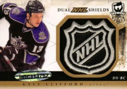 10-11 The Cup Dual NHL Shield Kyle Clifford