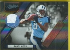 2011 Panini Absolute Randy Moss Patch Jersey