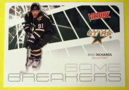 2011-12 Upper Deck Victory Hockey Brad Richards Game Breakers
