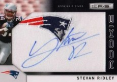 2011 Rookies & Stars Stevan Ridley Autograph Patch RC