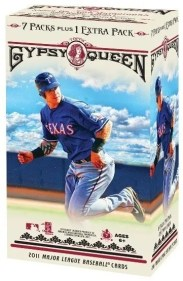 2011 Topps Gypsy Queen Retail Blaster Box