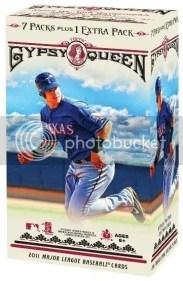 2011 Topps Gypsy Queen Retail Blaster Box