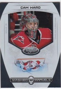 11-12 Certified Masked Marvels Cam Ward