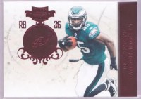 2011 Panini Plates & Patches LESean McCoy Base Card