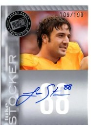 2011 Press Pass Luke Stocker Silver Autograph /199