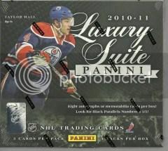 2010-11 Panini Luxury Suite Hockey Box