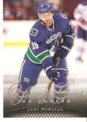 2011-12 UD Series 1 Cody Hodgson Young Guns Canvas