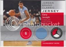 2011-12 Sp Authentic Cory Joseph Jordan Brand Classic Jersey