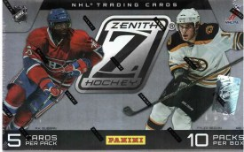2010-11 Panini Zenith Hockey Box